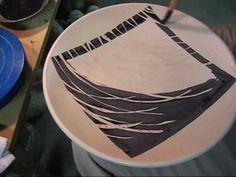 Kyle Carpenter decorating a plate