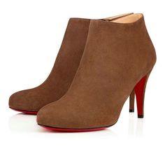 729eed217273 Christian Louboutin United Kingdom Official Online Boutique - BELLE VEAU  VELOURS 85 Chatain Veau velours available online. Discover more Women Shoes  by ...