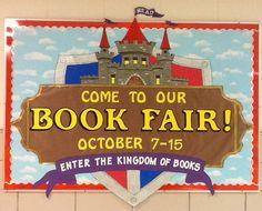 Scholastic Book Fair 2014 bulletin board