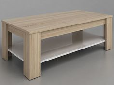 Coffee Table With Shelf, Coffe Table, Coffee Table Design, Bed Headboard Design, Headboards For Beds, Tv Stand Furniture, Furniture Design, Small Wood Projects, Diy Sofa