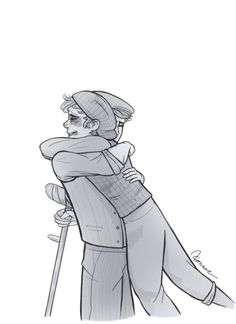 Anonymous said: Could you draw a JackCrutchie reunion after Crutchie gets back from the Refuge? Answer: Well this was going to be a comic, but I can never finish comics. Theatre Nerds, Music Theater, Broadway Theatre, Broadway Shows, Theatre Jokes, Jack Kelly, Tuck Everlasting, Seize The Days, Hamilton
