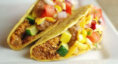 Summer Veggie and Quinoa Tacos