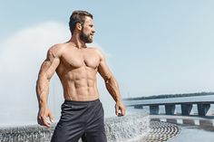 Droog trainen protocol: Wat is het en werkt het ook? | fitnessreceptenboek Male Poses, Mens Fitness, City, Swimwear, Templates, Fashion, Models, One Piece Swimsuits, Stenciling
