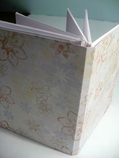 A mini album made from envelopes. Fun for keepsakes from vacations, school, babies, weddings...