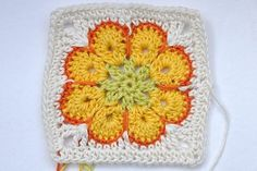 "Crochet * Granny Square ""Somalia""    great tutorial - finally a tut for this granny!!!"
