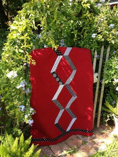 Boxed Chain Memorial Quilt   Made using a granny's black and…   Flickr
