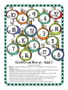 Christmas Activities: Christmas Math Games, Puzzles and Brain ...