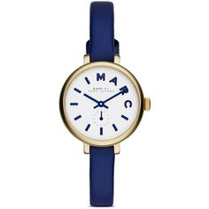 Marc By Marc Jacobs Sally Watch, 28mm (505 BRL) ❤ liked on Polyvore featuring jewelry, watches, accessories, blue, blue jewelry, blue watches, marc by marc jacobs jewelry, marc by marc jacobs and marc by marc jacobs watches