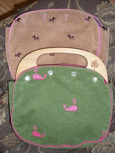 PREPPY LILLY PULITZER BERMUDA BAG HANDBAG COVER & 2 COVERS WHALES DOGS APPLES