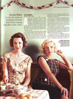 call the midwife on PBS...cute 50s dresses :o)