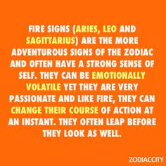 Aries: Bring on the FIRE