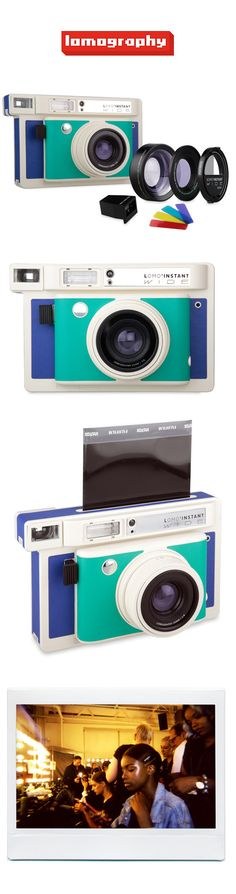 We're thrilled to introduce the Lomo'Instant Wide — the world's most creative instant wide camera and lens system! http://shop.lomography.com/en/cameras/lomo-instant-wide/