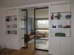 kamer ensuite modern at DuckDuckGo Living Room And Kitchen Design, Living Room Designs, Utrecht, New Homes, Suits, Bed, Furniture, Home Decor, Google