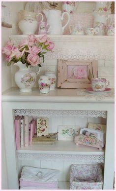 Vintage pink shabby...charming...