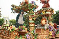 Jungle Book in parade
