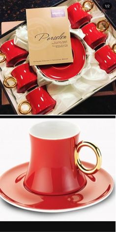 Cups and Saucers 36029: Turkish Coffee Cup Set Of 6 -> BUY IT NOW ONLY: $59.9 on eBay!