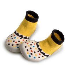 Collegien Slipper Socks PLAY La trapeziste yellow