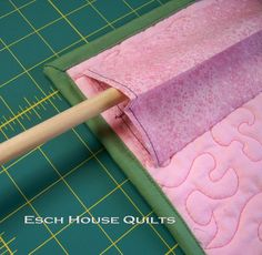 Esch House Quilts | How to make a 4″ hanging sleeve