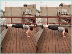 Park Bench Workout Routine | Beautylish