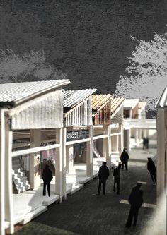 Architecture Infrastructure Assemblage Explore, Architecture, Outdoor Decor, Architecture Illustrations, Exploring