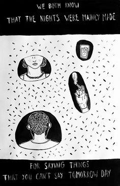 Do I wanna know? - Arctic Monkeys illustration by azul portillo