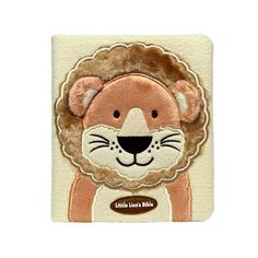 Little Lion's Bible is a soft, cuddly Bible that children ages 2 to 5 can call their own.  Throughout this plush-covered book, children learn they are loved and cared for by God as they hear about God's faithfulness in ten stories from the Bible.