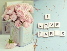 I love Paris. I want my room done Paris themed Oh Paris, I Love Paris, Paris France, Pink Paris, Beautiful Paris, Beautiful Things, Paris Style, Beautiful Flowers, Simply Beautiful