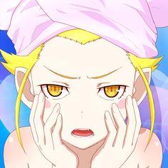 My name is Shinobu Oshino. Otaku, Blonde Hair Characters, Anime Manga, Anime Art, Shinobu Oshino, Kiss Shot, Monogatari Series, Nichijou, Adventure Time Anime