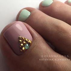 Девочки, оцените ноготочки! От 1 до 10! Не забывайте ставить лайки и Подписываться @manicure_nail_dreams @manicure_luxury_nail… Gorgeous Nails, Love Nails, How To Do Nails, Pretty Nails, Pedicure Designs, Toe Nail Designs, Elegant Nails, Classy Nails, Nail Garden