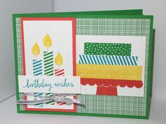 Klompen Stampers (Stampin' Up! Demonstrator Jackie Bolhuis): More Ideas With Build a Birthday