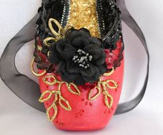Check out this item in my Etsy shop https://www.etsy.com/listing/469933402/decorated-pointe-shoenutcracker-ballet