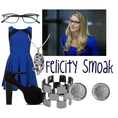 Felicity Smoak- Loving the majority of her clothes in the show.