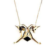 unicorn onyx necklace