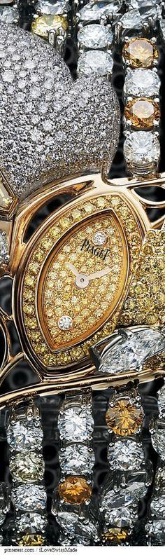 Piaget Rose Gold #Diamond Secret #watch | La Dolce Vita | #luxury #diamonds #jewels