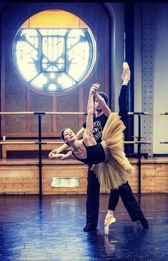 Ballet de l'Opéra de Paris - rehearsal