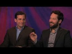 Steve Carell and Paul Rudd duet for Peter Travers. What song? Row, Row, Row Your Boat of course. Check out more at abcnews.com/movies.