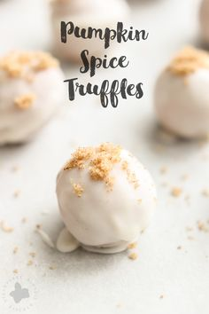Fall flavors bursting in one bite, these 4 ingredient No Bake Pumpkin Spice…