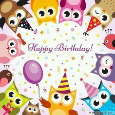 My Second Favorite Happy Birthday Meme Happy Birthday Owl, Happy Birthday Pictures, Happy Birthday Messages, Happy Birthday Quotes, Happy Birthday Greetings, Birthday Greeting Cards, Birthday Fun, Birthday Uncle, Card Birthday