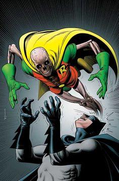 Batman and Robin by Brian Bolland