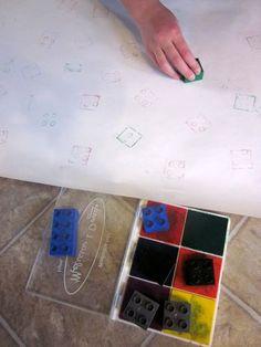 Lego/Duplo stamping #LegoDuploParty