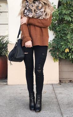 50+ Charming Fall Outfits to Stand Out - Style Spacez