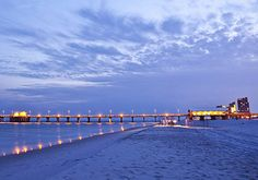 Alabama - June 22. A beach on the Gulf of Mexico. Visit www.discoveramerica.com for more places to visit in the USA.