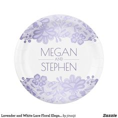 Lavender and White Lace Floral Elegant Wedding Paper Plate  sc 1 st  Pinterest & Nautical Beach Treasures Cute Underwater Scene Paper Plate Ocean ...