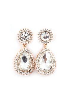 Avi Teardrop Earrings on Emma Stine Limited