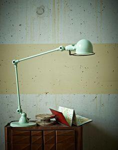 Jielde lamp.  Pastels