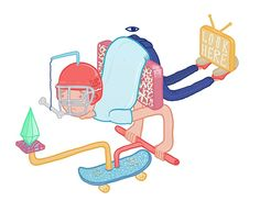 Characters 3 by Quilskat, via Behance