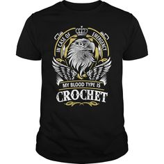 CROCHET In case of emergency my blood type is CROCHET - CROCHET T Shirt, CROCHET Hoodie, CROCHET Family, CROCHET Tee, CROCHET Name, CROCHET bestseller, CROCHET shirt, Order HERE ==> https://www.sunfrogshirts.com/Automotive/140978146-1081423795.html?58114, Please tag & share with your friends who would love it, sew for kids, garden lighting, garden tips #firefighter #architecture #art