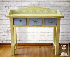Chalk Of The Town® - Dresser Renovation Chalk Paint, Table, Dresser, Painting, Furniture, Colors, Home Decor, Powder Room, Decoration Home