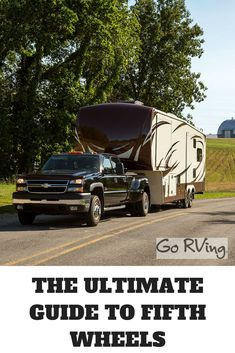Interested in buying a fifth wheel camper? This guide from Lazydays can help you find the perfect RV for your next adventure. Fifth Wheel Campers, Fifth Wheel Trailers, Rvs For Sale, Rv Life, Wheels, Trucks, Travel, Viajes
