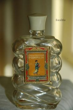 Oude eau de cologne fles